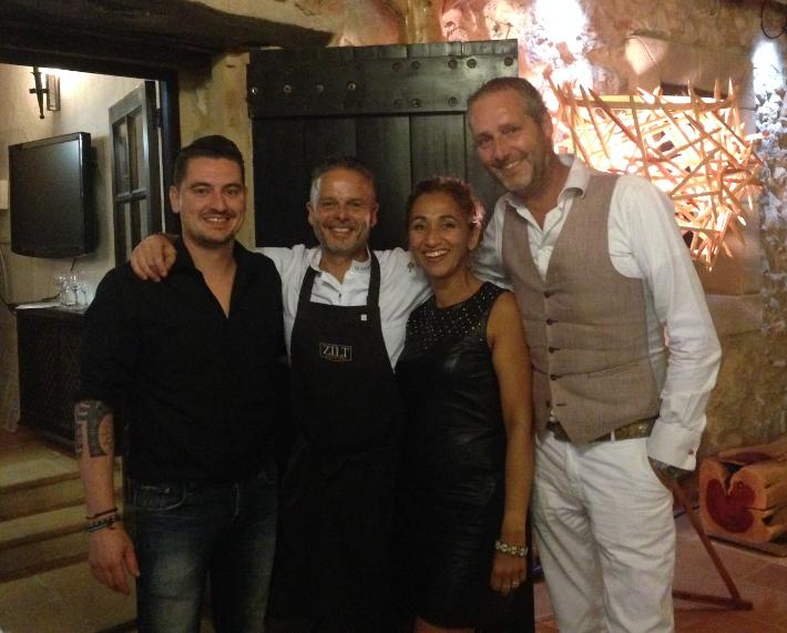 Met Mike en Edwin.