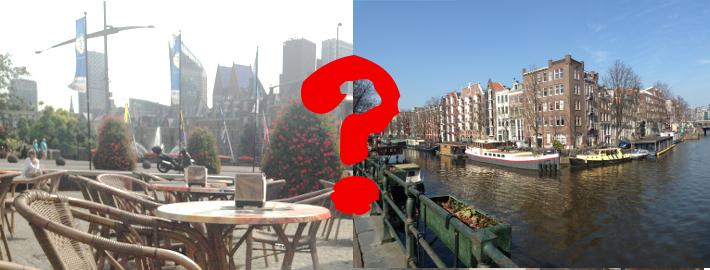 Den Haag of Amsterdam?