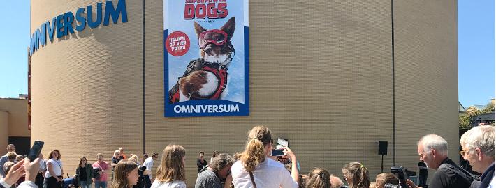 Superpower dogs, film in het Omniversum Den Haag